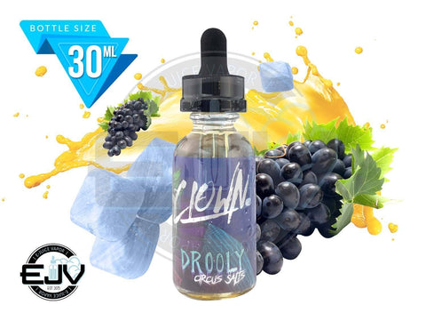 Drooly Salt by Clown Circus Salt 30ml