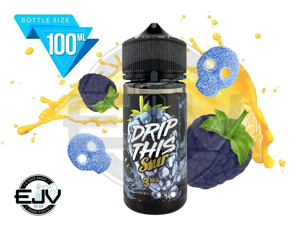 Blue Raspberry by Drip This Sour 100ml