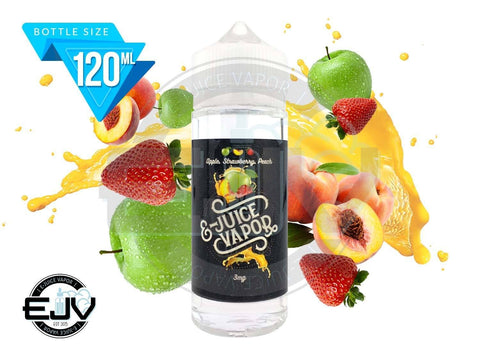 Apple Strawberry Peach by E-Juice Vapor 120ml