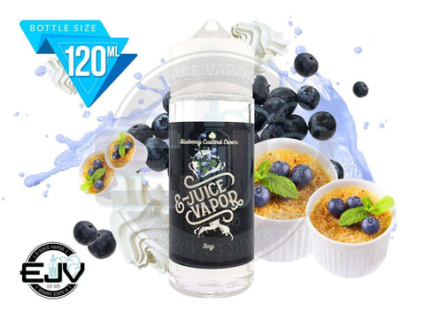 Blueberry Custard Cream by E-Juice Vapor 120ml