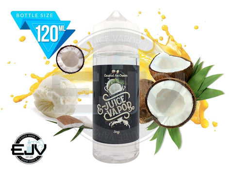 Coconut Ice Cream E-Juice Vapor 120ml