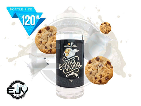 Cookies and Milk by E-Juice Vapor 120ml