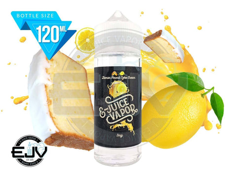Lemon Pound Cake Cream by E-Juice Vapor 120ml