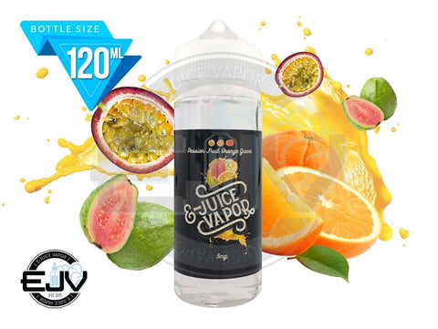 Passion Fruit Orange Guava by E-Juice Vapor 120ml