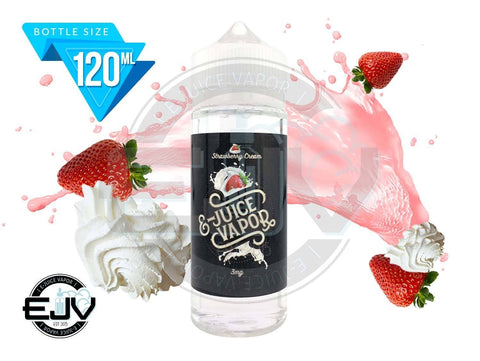 Strawberry Cream by E-Juice Vapor 120ml