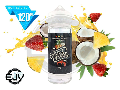 Strawberry Pineapple Coconut by E-Juice Vapor 120ml