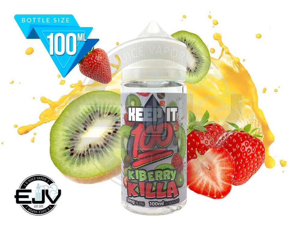 KiBerry Killa by Keep It 100 E-Juice 100ml