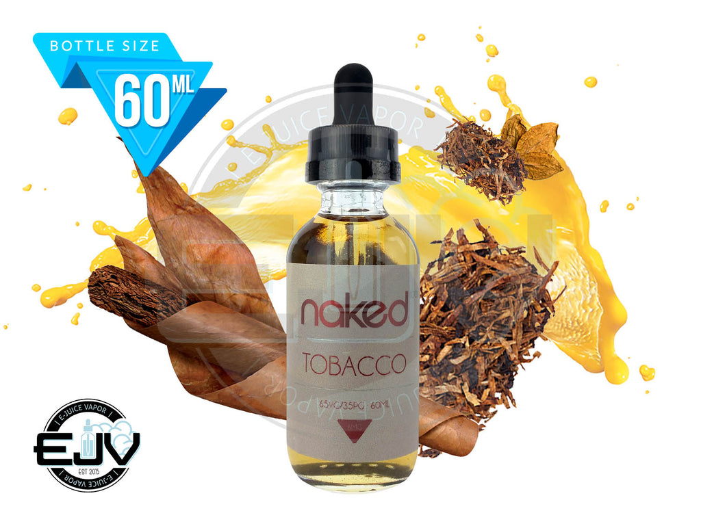 American Cowboy by Naked 100 Tobacco EJuice 60ml