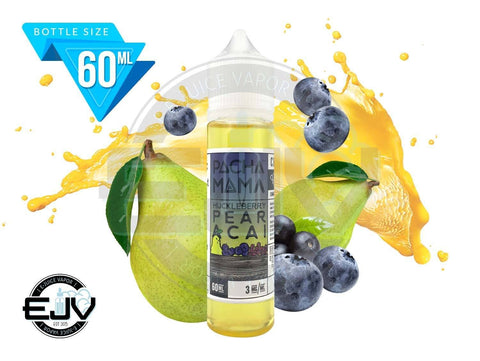 Huckleberry Pear Acai by Pachamama E-Liquid 60ml