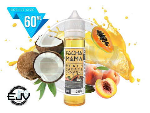 Peach Papaya Coconut Cream by Pachamama EJuice 60ml
