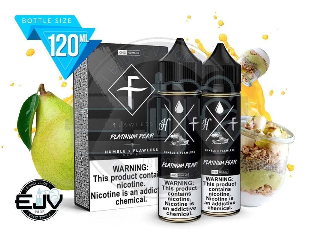 Platinum Pear by Humble x Flawless 120ml