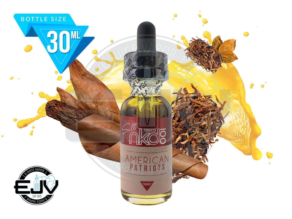 American Patriots by Naked 100 Salt EJuice 30ml