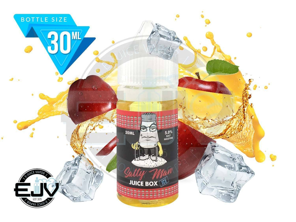 Juice Box Iced by Salty Man 30ml