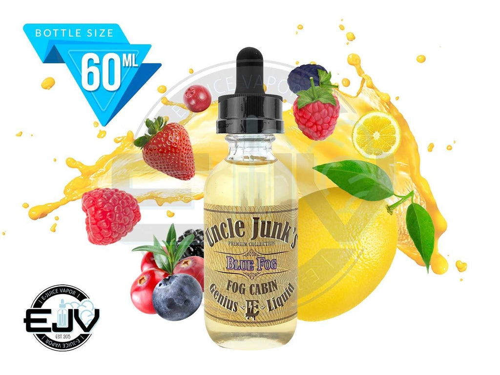 Blue Fog by Uncle Junk's EJuice 60ml