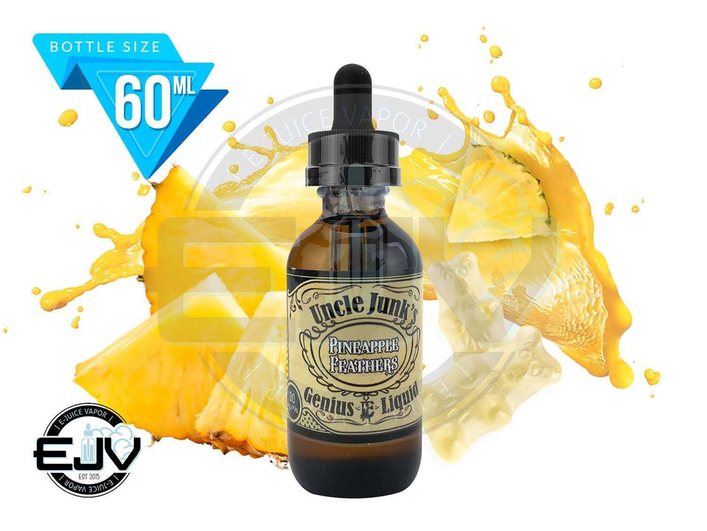Pineapple Feathers by Uncle Junk's EJuice 60ml