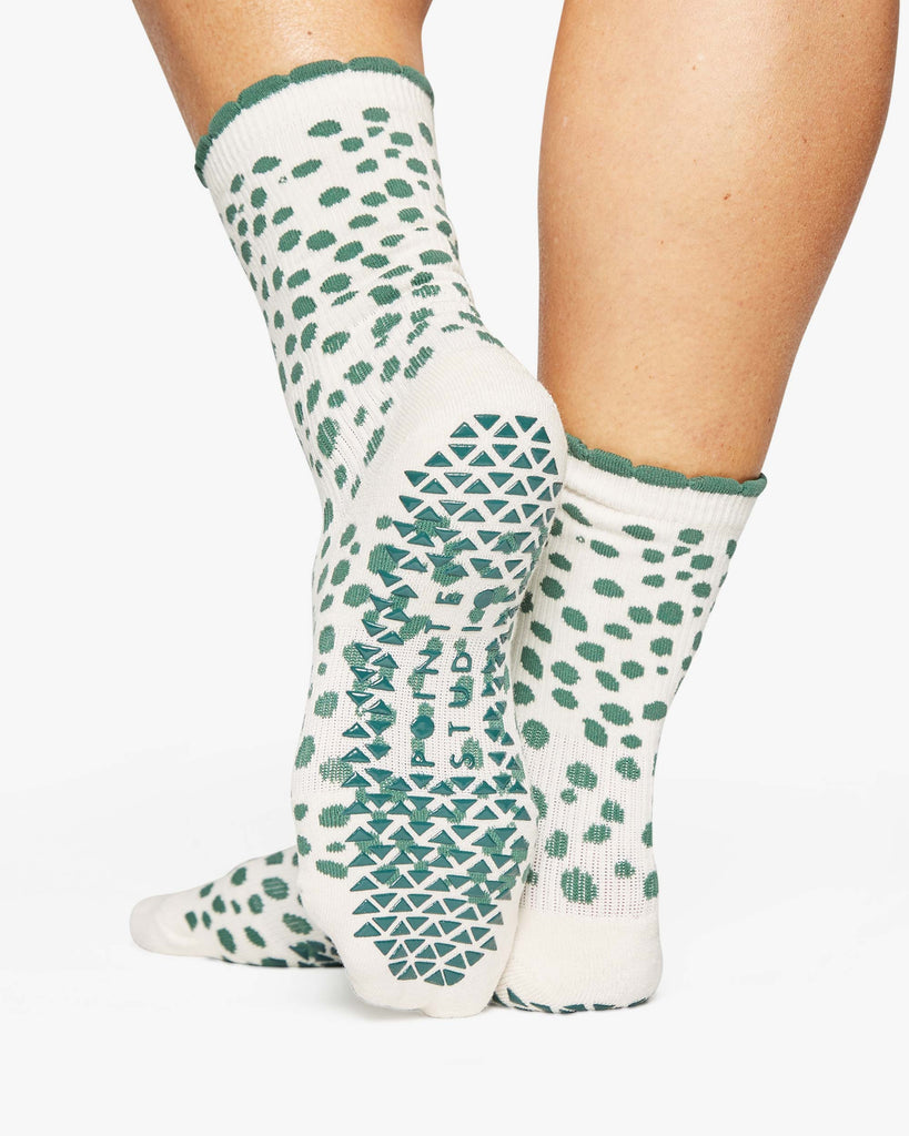 Dots Crew Grip Sock