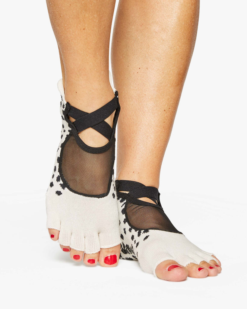 Dots Toeless Grip Sock