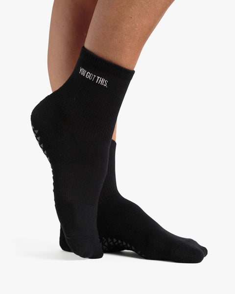 You Got This Ankle Grip Sock