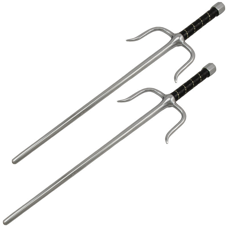 15.5 Inch Sai Set Swords, , Panther Trading Company- Panther Wholesale