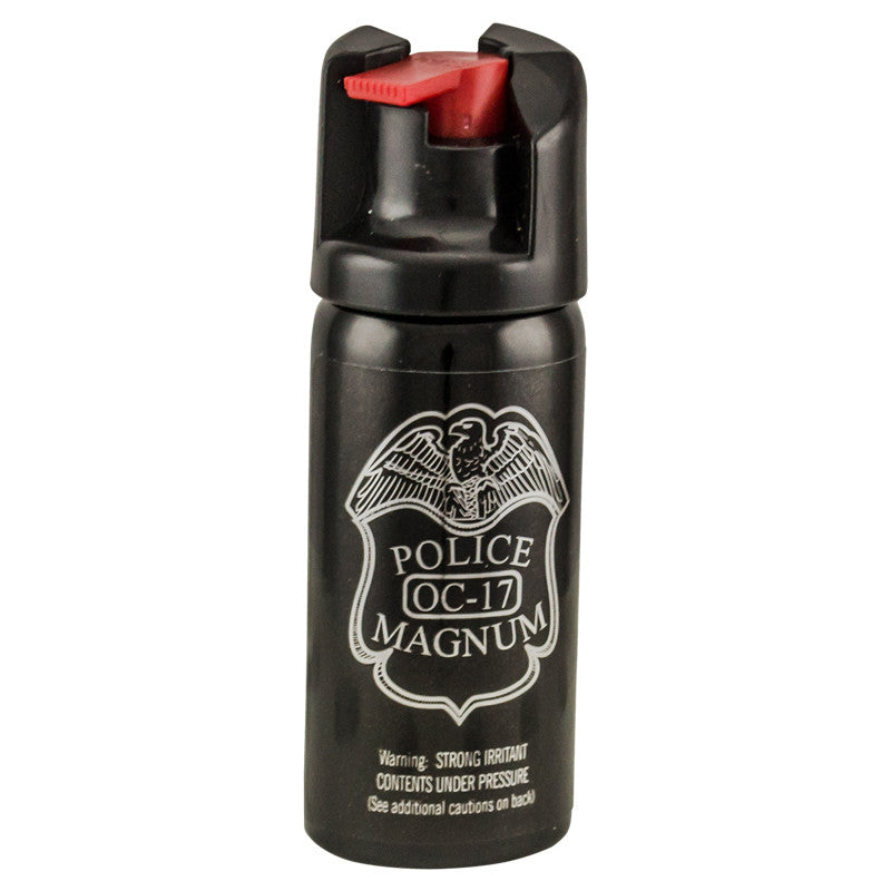 2 oz Pepper Spray- Police Strength OC-17 Magnum - Panther Wholesale