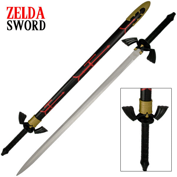 Gamer Replica Red and Black Sword, , Panther Trading Company- Panther Wholesale