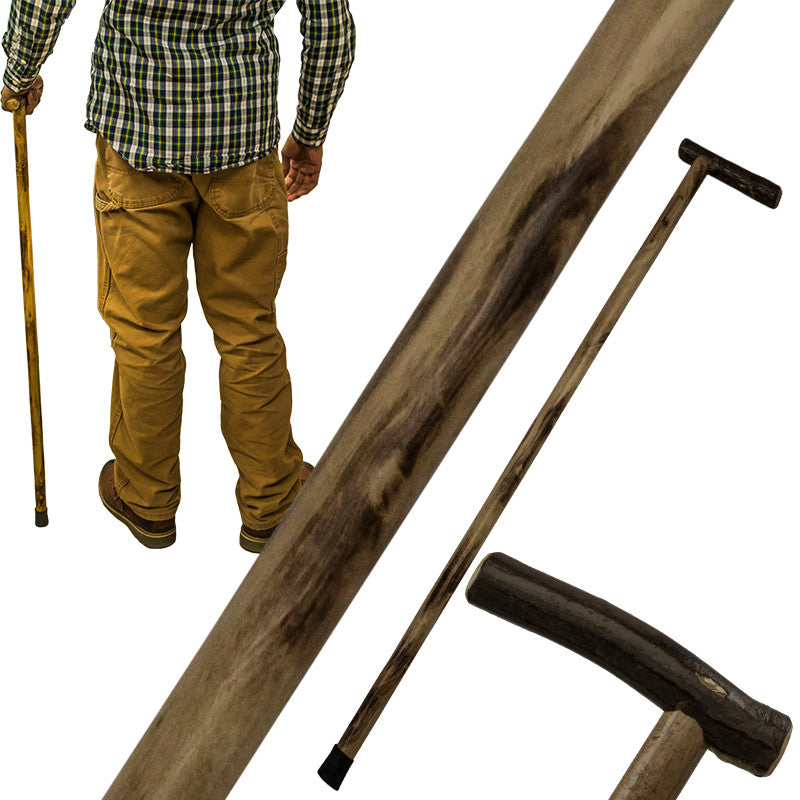 38 Inch Walking Cane Hiking Stick by Red Deer, , Panther Trading Company- Panther Wholesale