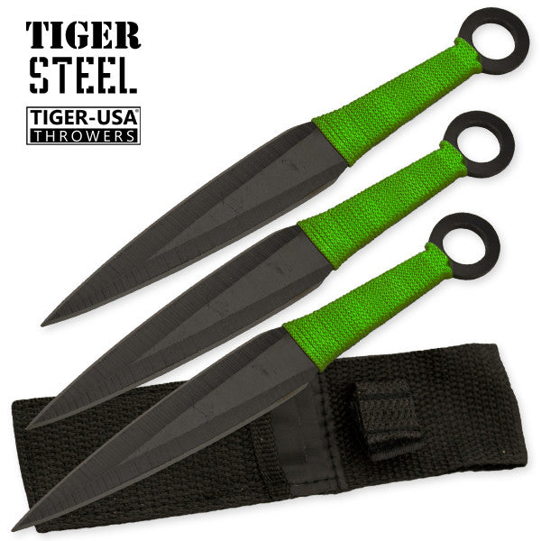 3 PC Zombified Throwing Knife Set