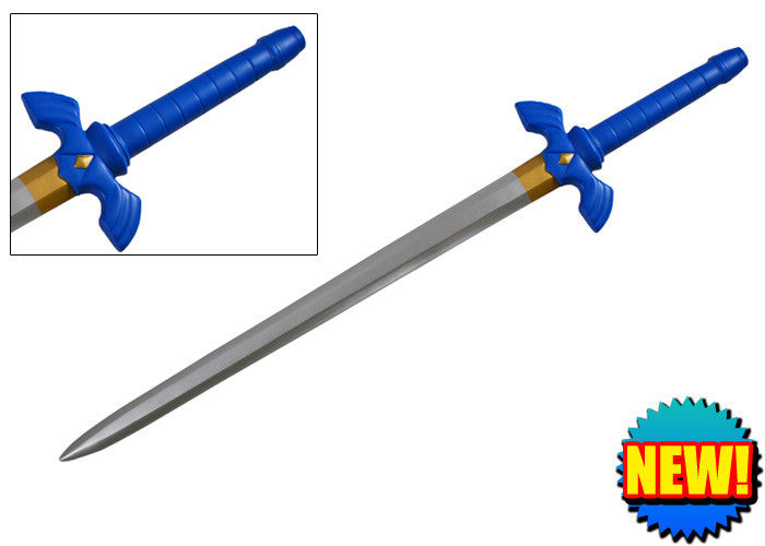 41.5 Inch Blue gamer Foam Sword, , Panther Trading Company- Panther Wholesale