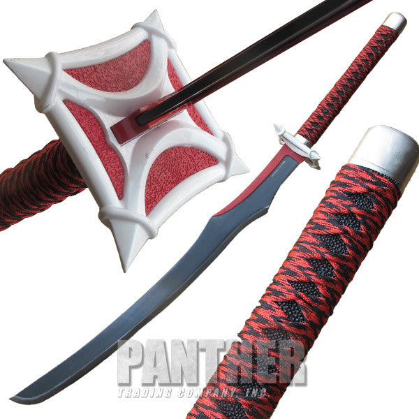 45 Inch Red Danger Sword, , Panther Trading Company- Panther Wholesale