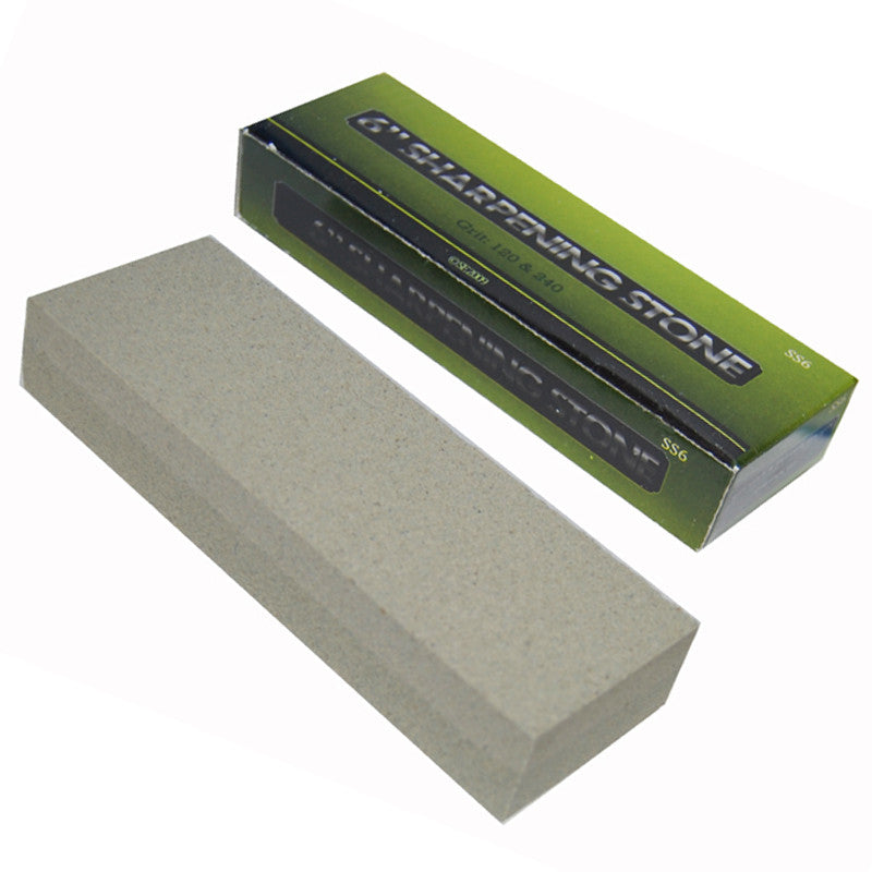 6 Inch Combination Sharpening Stone Box Pack, , Panther Trading Company- Panther Wholesale