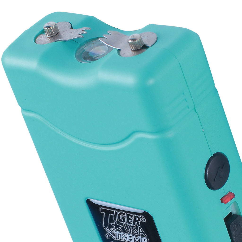 96 Mill Tiff Blue Rechargeable Stun Gun & Flash Light