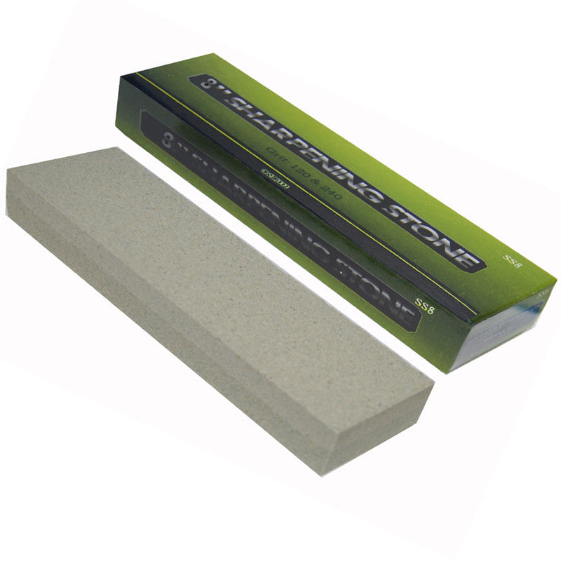 8 Inch Combination Sharpening Stone Box Pack, , Panther Trading Company- Panther Wholesale