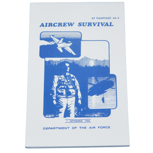 Aircrew Survival (Dept. Of The Air Force) AF 64-5, , Panther Trading Company- Panther Wholesale