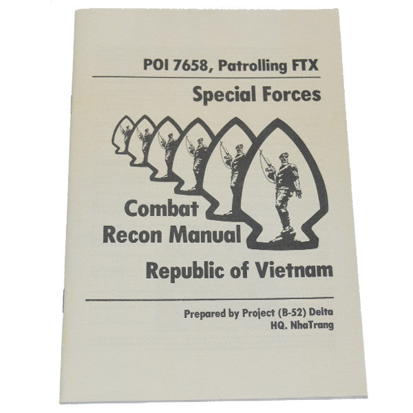 Patroling FTX (PO17658) Special Forces Combat Recon Manual, , Panther Trading Company- Panther Wholesale