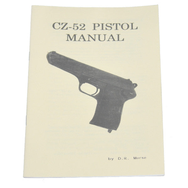 CZ-52 Pistol Manual, , Panther Trading Company- Panther Wholesale
