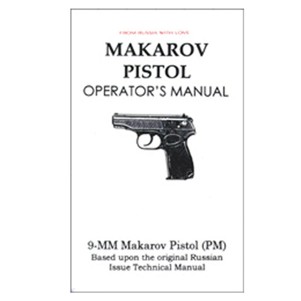 Makarov Pistol Manual, , Panther Trading Company- Panther Wholesale