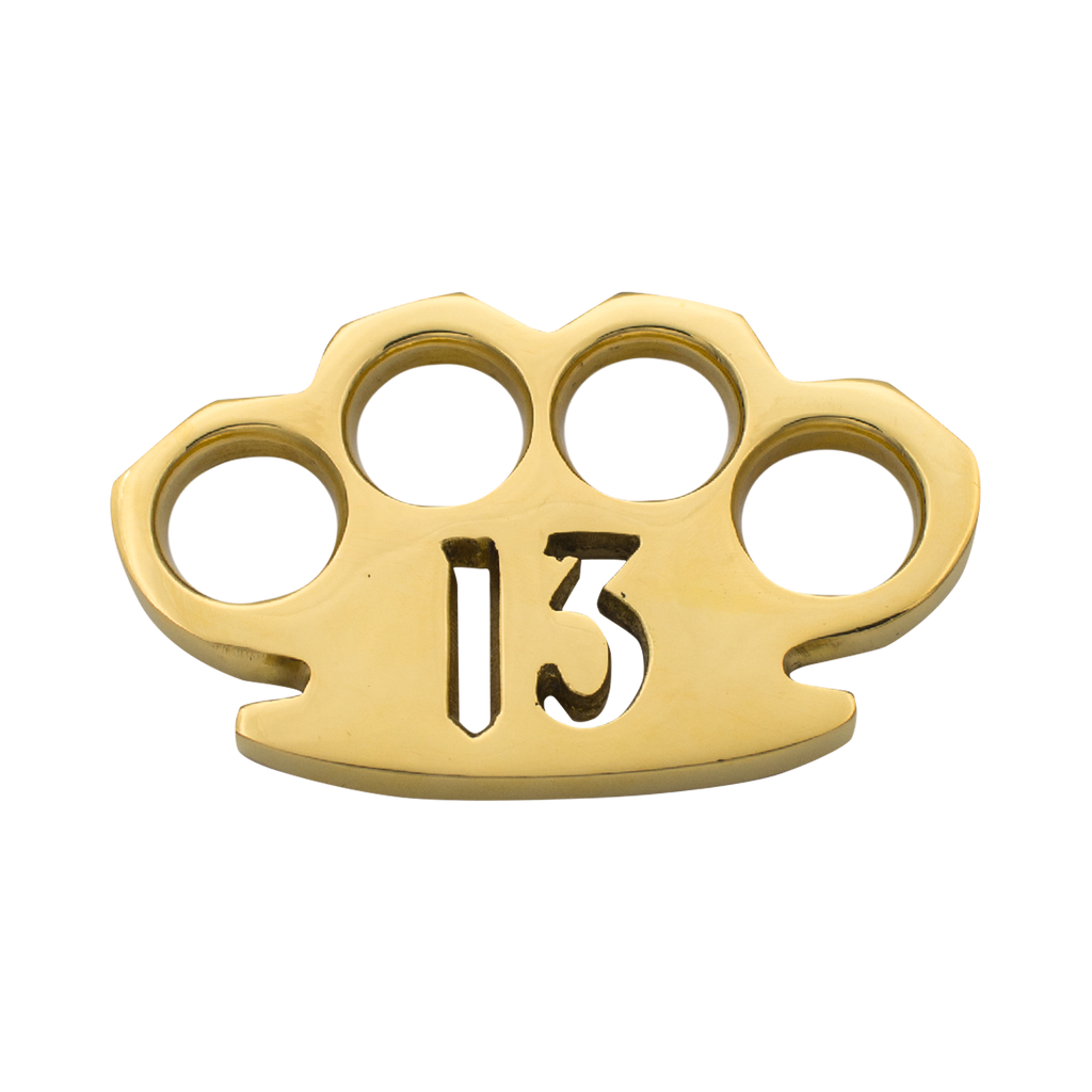 Steam Punk Solid Brass #13 Paper Weight