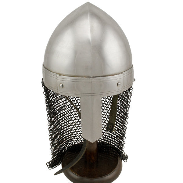 Viking Chainmail Tail Helmet, , Panther Trading Company- Panther Wholesale