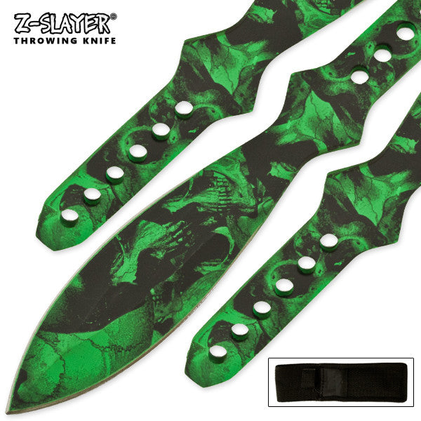 12 Inch Huge 3 PCS Throwing Knife Kit, , Panther Trading Company- Panther Wholesale