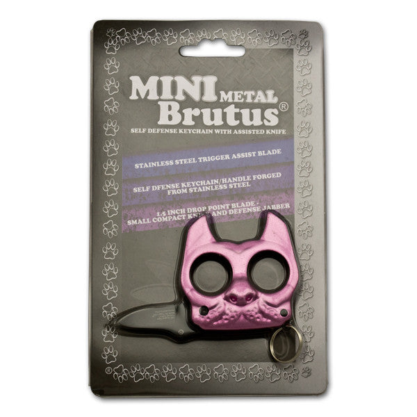 Brutus The Bulldog Defense Keychain And Knife Panther Wholesale