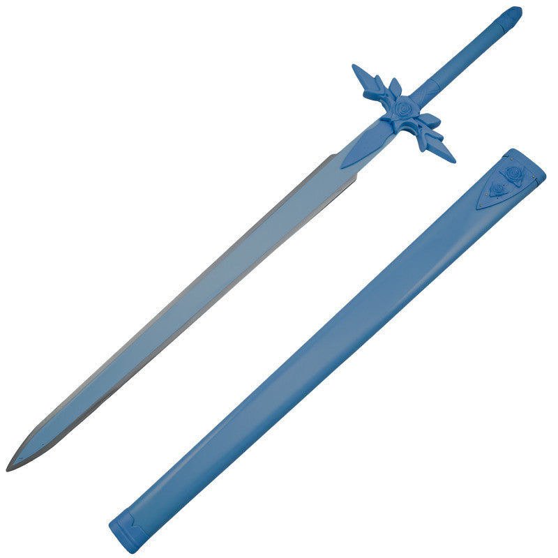 Blue Rose Prince Costume Sword with Scabbard, , Panther Trading Company- Panther Wholesale
