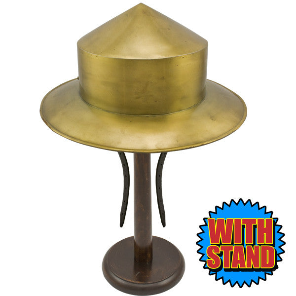 Traditional Kettle Hat with Stand, , Panther Trading Company- Panther Wholesale