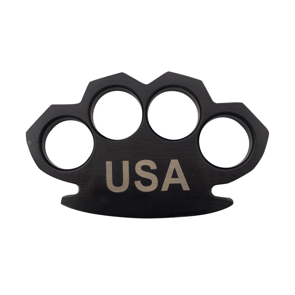 USA Steam Punk Black Solid Metal Paper Weight