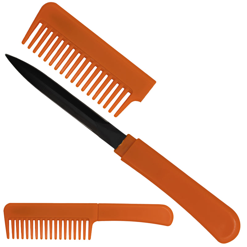 CIA Agent Comb Knife (Orange)