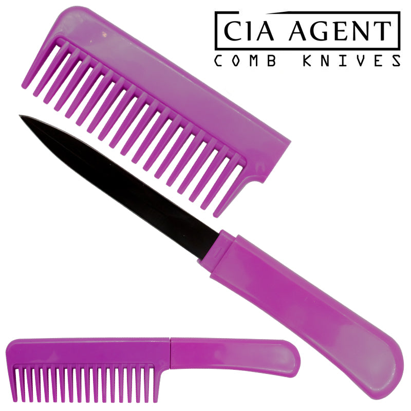 CIA Agent Comb Knife (Purple)