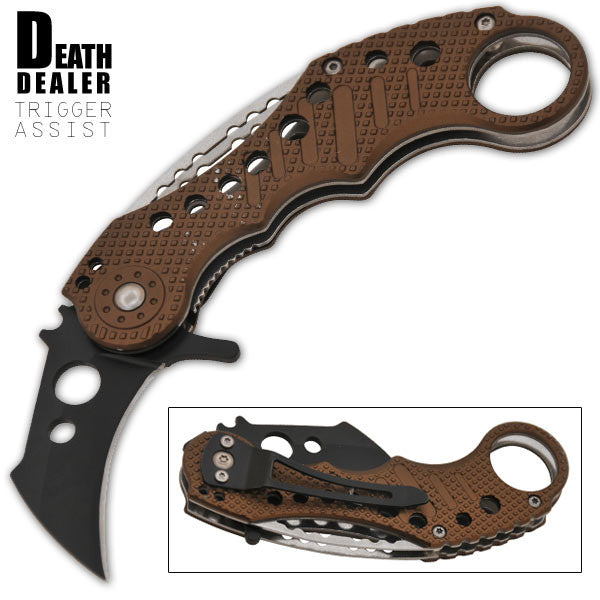 Death Dealer Trigger Action Knife