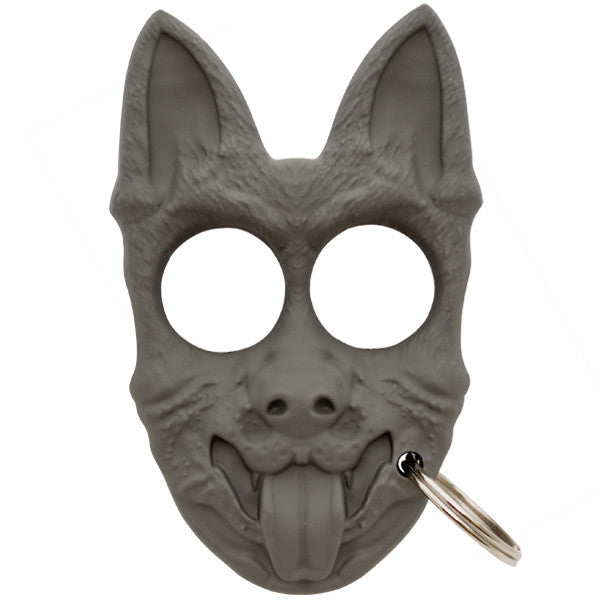Public Safety K-9 Personal Protection Keychain  Grey, , Panther Trading Company- Panther Wholesale