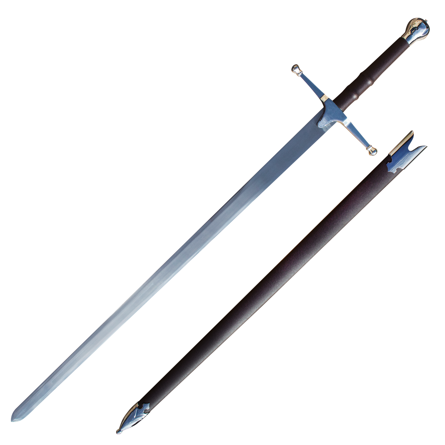 William Wallace Sword - Silver, , Panther Wholesale- Panther Wholesale