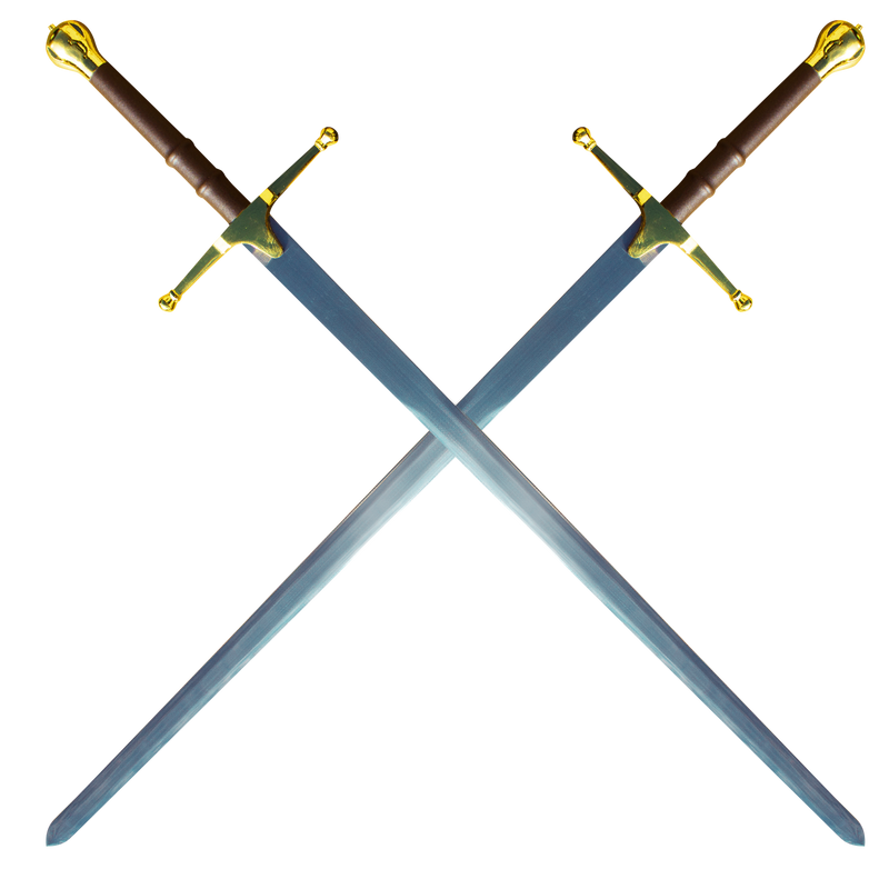 Double William Wallace Sword - Gold