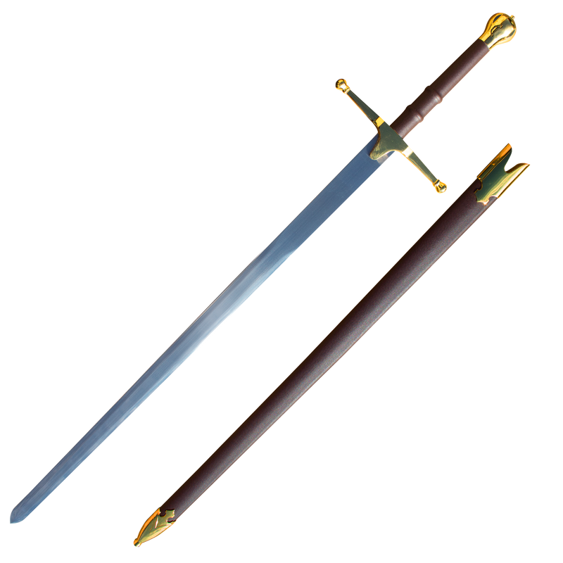 William Wallace Sword - Gold, , Panther Wholesale- Panther Wholesale